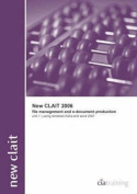 New CLAIT 2006 Unit 1 File Management and E-document Production Using Windows Vista and Word 2007