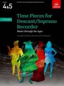Time Pieces for Descant/Soprano Recorder, Volume 2 (Time Pieces