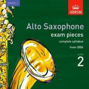 Alto Saxophone Exam Recordings, from 2006, Grade 2, Complete [Audio]