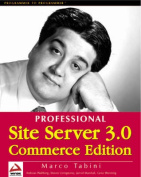 Professional Site Server 3.0 Commerce Edition