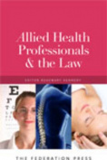Allied Health Professionals and the Law