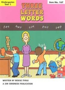 Three Letter Words: Early Learning Skills Book 2