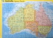 Australia Map [Board book]