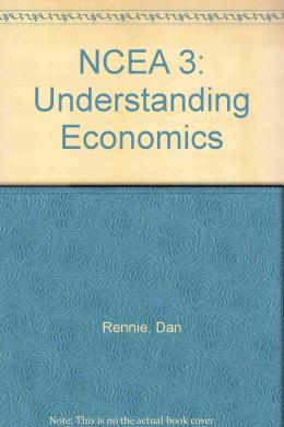 NCEA 3: Understanding Economics: Pt.B