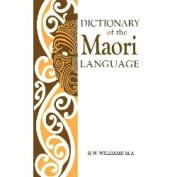 A Dictionary of the Maori Language [MAO]