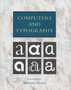 Computers and Typography: v. 1