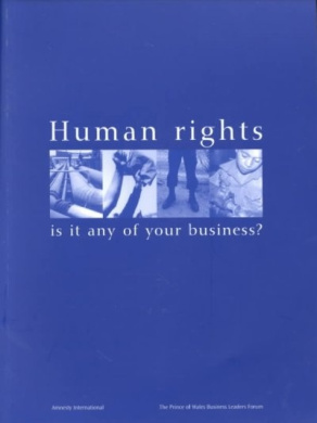 Human Rights: Is it Any of Your Business?