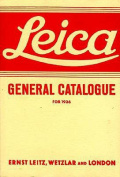 Leica General Catalogue for 1936