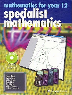 Specialist Mathematics: Mathematics for Year 12: Year 12 Part 2