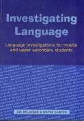Investigating Language
