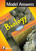 Model Answers Year 13 2006 Student Resource and Activity Manual