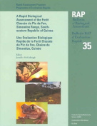 A Biological Assessment of the Terrestrial Ecosystems of the Foret Classee Du Pic De Fon, Simandou Range, Southeastern Republic of Guinea