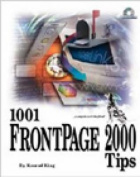 1001 FrontPage 2000 Tips