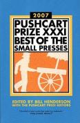 Pushcart Prize XXXI