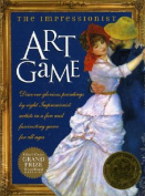 The Impressionist Art Game with Cards and Gameboard