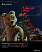 Learning Autodesk Maya 2010