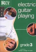 Electric Guitar Playing, Grade 3