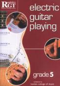 Electric Guitar Playing