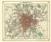 Sheffield 1849 Map