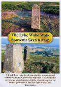 The Lyke Wake Walk Souvenir Sketch Map