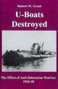 U-boats Destroyed