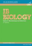 IB Biology - Option E