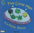 Five Little Men in a Flying Saucer (Classic Books with Holes Soft Cover) [Board book]