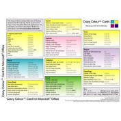 Crazy Colour Quick Reference Card for Microsoft Office