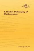 A Realist Philosophy of Mathematics