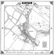 Renfrew 1854 Map