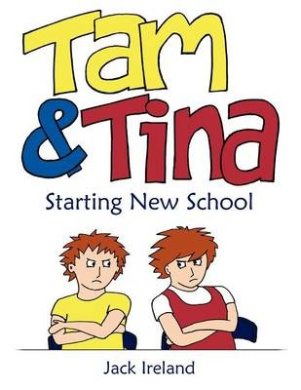 Tam and Tina Starting New School: A Funny First Day for Two Worried Children with Potty Parents