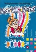 What Will I Write