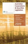 Australian Corporations and Securities Legislation 2009