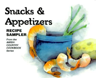 Snacks & Appetizers: Recipe Sampler [With Stand-Up Easel]
