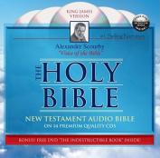 Scourby New Testament-KJV [With DVD]