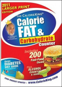 The Calorieking Calorie, Fat & Carbohydrate Counter(2011) - Large Print [Large Print]