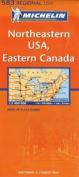 Michelin Map USA Northeastern, Eastern Canada 583