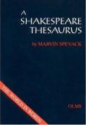 A Shakespeare Thesaurus