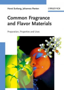 Common Fragrance and Flavor Materials