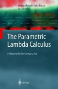The Parametric Lambda Calculus