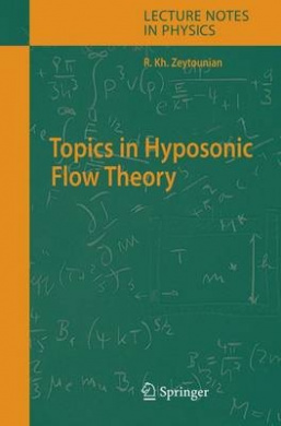 Topics in Hyposonic Flow Theory (Lecture Notes in Physics)