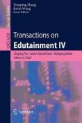 Transactions on Edutainment