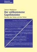 Der Vollkommene Capellmeister  [GER]