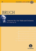 Concerto No. 1 for Violin and Orchestra in G Minor, Opus 26 [With CD (Audio)]