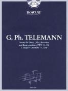 Telemann: Sonata in C Major for Treble (Alto) Recorder and Basso Continuo Twv41