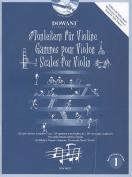 Scales for Violin, Volume 1