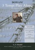 """Sonata (""""Hallenser"""") No. 1 for Flute and Basso Continuo in A-Minor"""