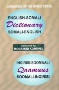 English-Somali and Somali-English Dictionary