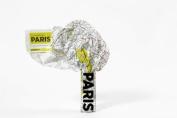 Paris (Crumpled City Map)