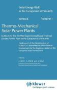 Thermomechanical Solar Power Plants